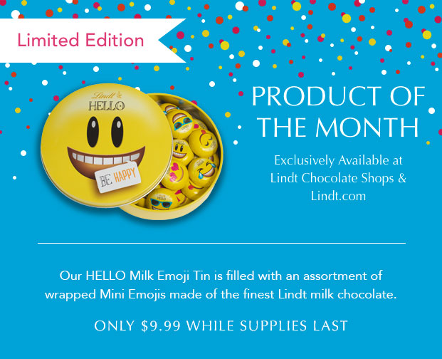 Product of the month - HELLO Milk Emoji Tin