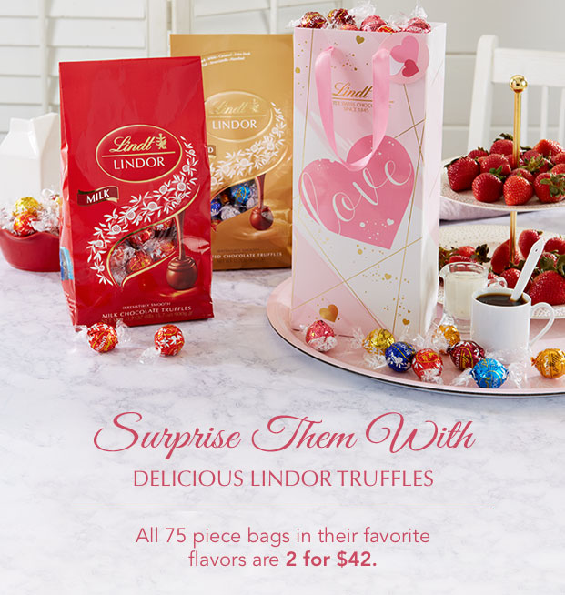Surprise Them With Delicious LINDOR Truffles