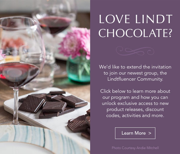 Love Lindt Chocolate? Join the Lindtfluencer Community.