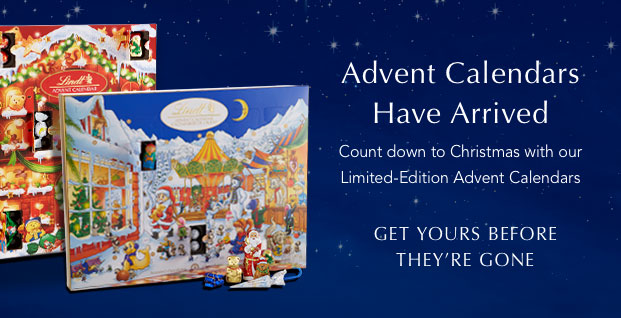 Advent Calendars Have Arrived