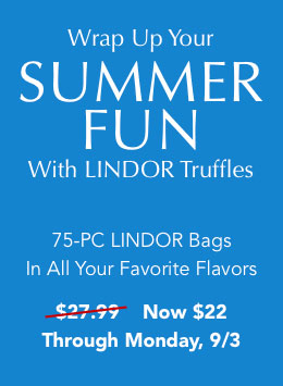 Enjoy a sweet finish to summer, 25% off store & sitewide* during our end of summer event now through sunday, 8/26