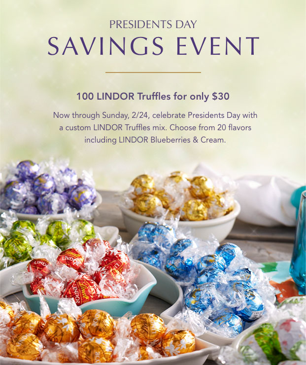 Presidents Day Savings Event