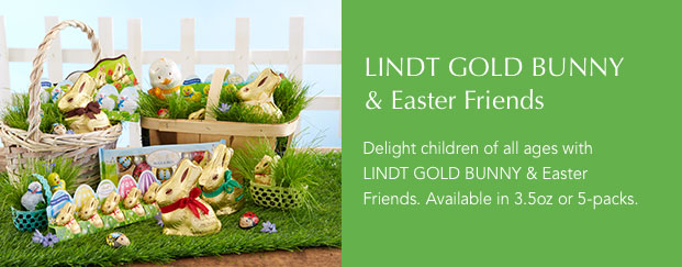 LINDT GOLD BUNNY & Easter Friends