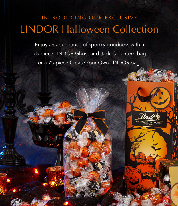 Introducing the LINDOR Halloween Collection
