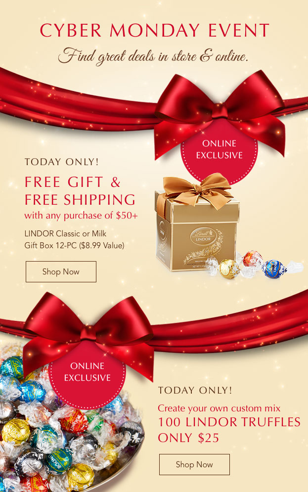 Cyber Monday Event, Great Deals Online & In Store