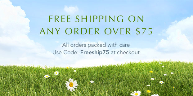 Free Standard Shipping On Any Order Over $75