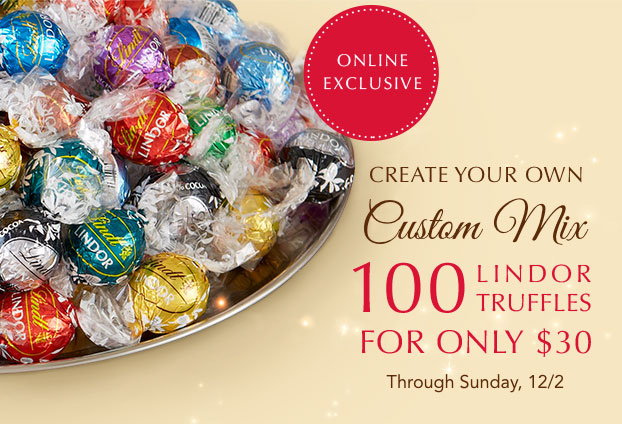 Create Your Own Mix Of 100 Truffles For $30