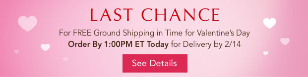 Last Chance for Free Ground Shipping
