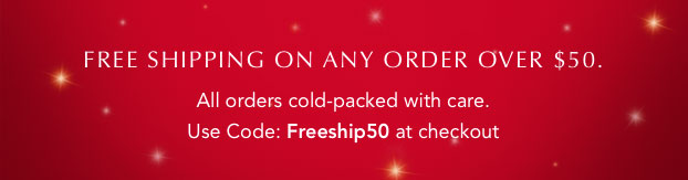 Free shipping on any order over $50.