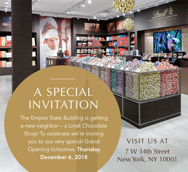 A Special Invitation, Visit Us At 7 W 34th St NY, NY