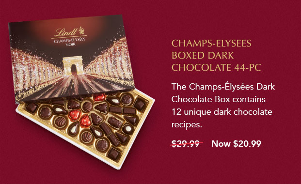 Champs-Elysees Boxed Dark Chocolate