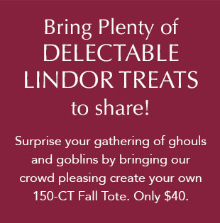 Bring Plenty of Delectable LINDOR treats!
