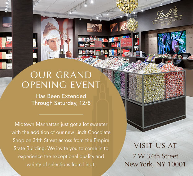 Our Grand Opening Event Has Been Extended!
