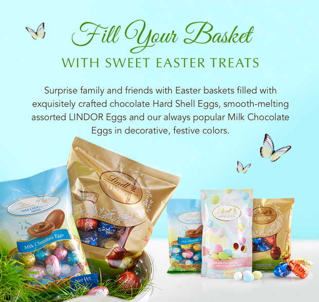 Fill Your Basket With Sweet Easter Treats